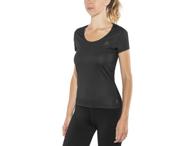 Odlo Suw Active F-Dry Light T-shirt à col ras-du-cou Femme, black